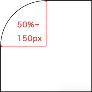 border-top-left-radius :50%;