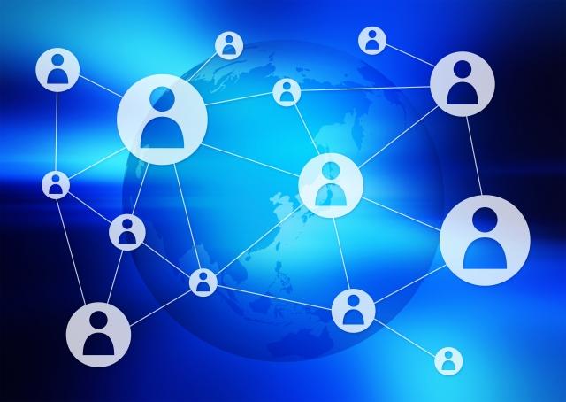 ネットワーク上での拡散イメージ