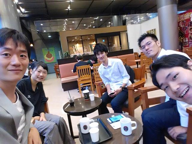 2016年10月9日 朝カフェ 大阪