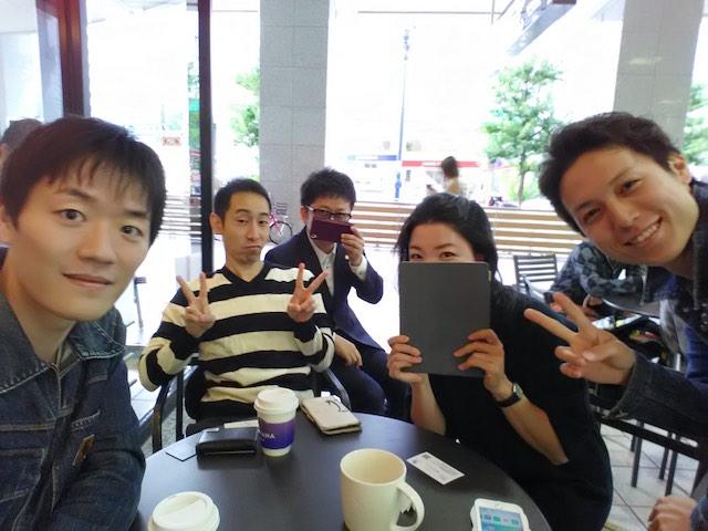 2016年10月14日 朝カフェ 大阪