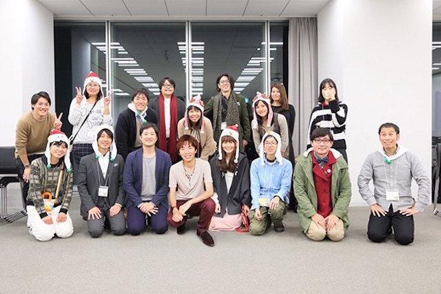 運営スタッフ 集合写真 大阪 あべのハルカス クリエイター200人祭り