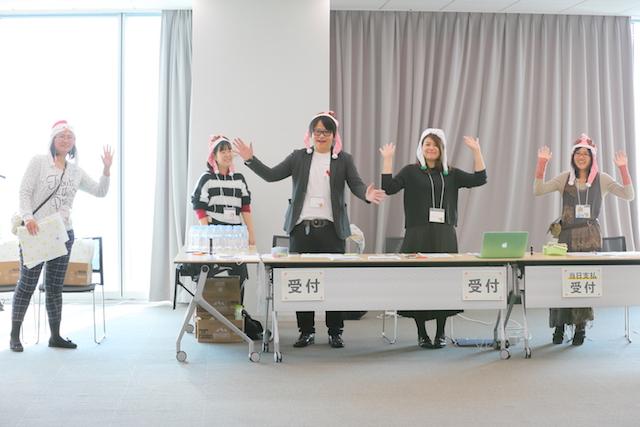 受付 大阪 あべのハルカス クリエイター200人祭り
