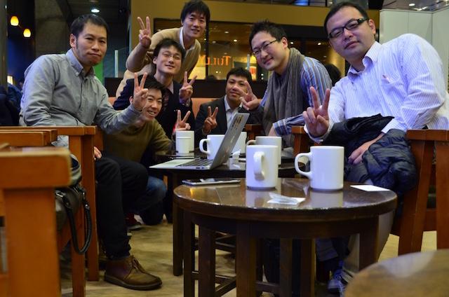 2016年12月25日 大阪 朝カフェ