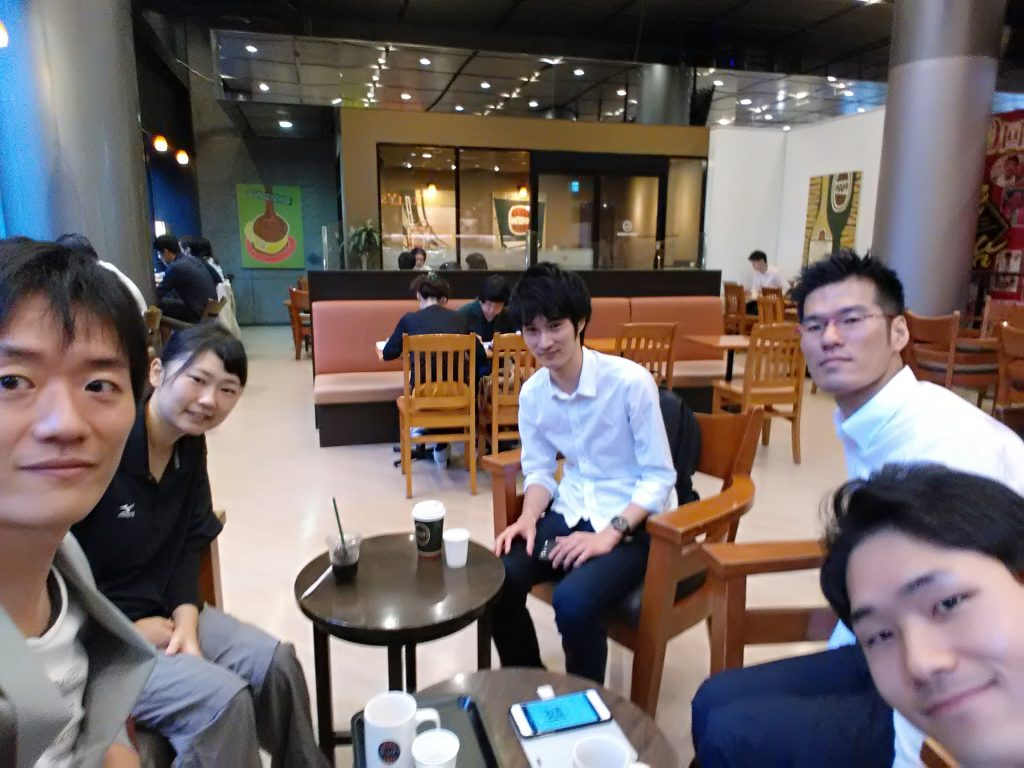 大阪で開催する朝カフェ