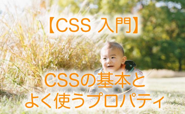 CSS 入門 CSSの基本とよく使うタグ ホームページ作成