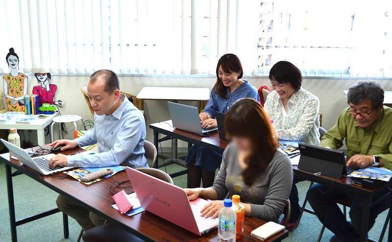 4/29 開催レポート HTML超入門セミナー  実習の様子