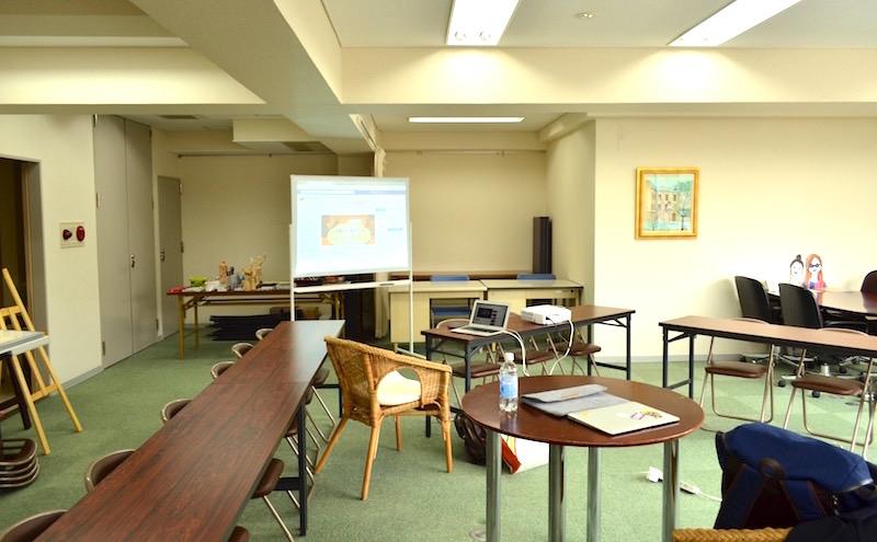 大阪南堀江 エイトビル 10F 毎週土曜日Webスクールで利用